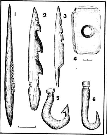 древние орудия рыбной ловли